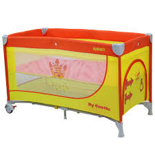 <b>Манеж</b>-кроватка <b>Rant My Castle</b>, желтый, оранжевый