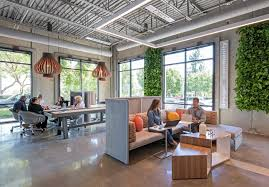 office lounge design. coalesse lagunitas lounge and sebastopol tables create a comfortable office space reminiscent of the residential design
