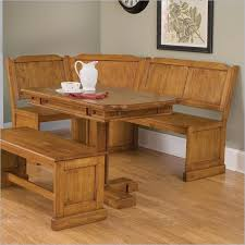image of table rectangular bench sold separately breakfast nook table