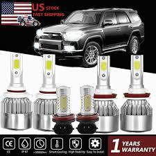 <b>Combo 9005 9006 H11</b> 300W LED Headlight Bulb High Low Beam ...