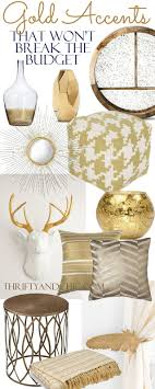 18 gold home decor pieces that wont breat the budget divided up into bedroom sweat modern bed home office room
