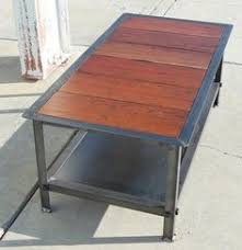 vintage industrial coffee table modern industrial by customeffects brooklyn industrial office