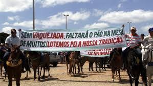 Resultado de imagem para vaqueiros protestos fotos