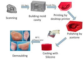 Fabrication of <b>low cost</b> soft tissue prostheses with the desktop <b>3D</b> ...