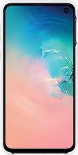 <b>Чехол</b> (<b>клип-кейс</b>) <b>Samsung S</b> 10 e (G 970) SiliconeCover white EF ...