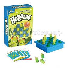 <b>Thinkfun</b> Настольная игра <b>Лягушки</b>-<b>непоседы</b> Hoppers от 5 лет ...