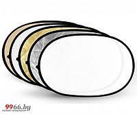 <b>Светоотражатель Fujimi 180x120cm</b> FJ-702-180/120 5 in 1 Silver ...