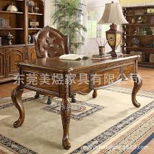american solid wood furniture and home study desk desk european oak table computer brand furniture best solid wood furniture brands