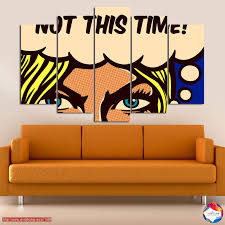 Canvas print Fool me once? <b>5 pieces</b> №0801