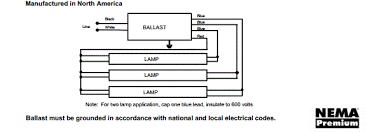 universal 3 lamp wiring diagram gif 4 light ballast wiring diagram wiring diagram schematics 596 x 209