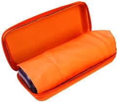 <b>Зонт Unit Five</b>, оранжевый оптом под логотип