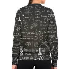 Заказать <b>свитшот женский с</b> полной запечаткой Наука #2597164 ...