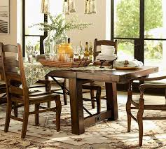 Dining Room Table Pottery Barn Rustic Pottery Barn Kitchen Table Tables Amp Chairs Kitchen Table
