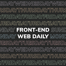 Front-End Web Daily