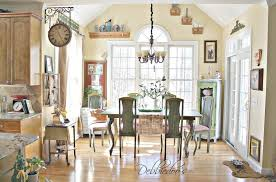 fixtures dining table home decor country