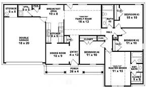 Top Photos Ideas For Bedroom Story House Plans   House    One Story Bedroom Bath Traditional Ranch Style House Plan