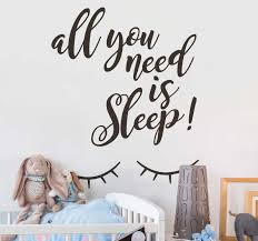 <b>Keep calm and go</b> to sleep wall stickerBedroom wall stickerSleep ...