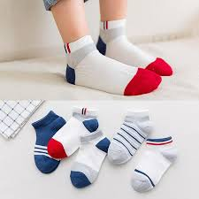 <b>5 Pairs</b>/<b>lot 2019</b> New Summer Boys Girls Kids Socks Set 3-12Y ...