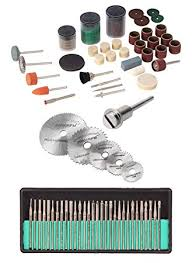Buy Digital Craft <b>105PC Rotary Tool Accessories</b> Kit Mini Drill Bit Set ...