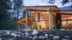 Modern Mountain House Mountain Cabin Modern Mountain Cabins Designs Small Mountain House