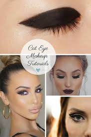 cat eye makeup styles thick mod cat eye makeup beautiful cat eyes double