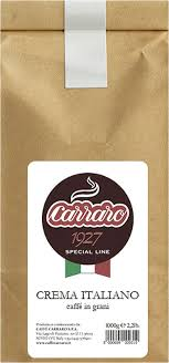 <b>Кофе в зернах</b> Caffe <b>Carraro</b> Crema Italiano, 1 кг — купить в ...