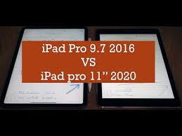 """<b>iPad Pro 9.7</b>"""" VS iPad Pro 11"""" 2020 - YouTube"""