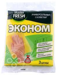 Купить <b>Салфетки Master Fresh</b> ЭКО универсальные для уборки ...