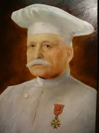 ... wouldn't have hesitated to give that honour to their former resident Ho Chi Minh, who lived there whilst working as a pastry chef for Auguste Escoffier. - Escoffier-767x1024