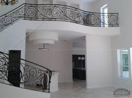 Custom Stair Railing Wrought Iron Stair Railing 3