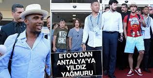 Yıldız futbolcular Antalya'da
