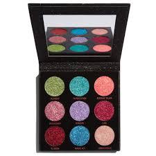 <b>Makeup Revolution Pressed Glitter</b> Palette Abracadabra Reviews ...