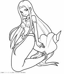 Small Picture Coloring Pages Draw Mermaids Little Mermaid Ariel Outline Images