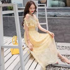 9 Colors Plus Size Summer Floral Chiffon Boho Midi Dress 2019 ...