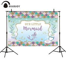 2019 <b>Allenjoy</b> Photophone <b>Photographic</b> Little <b>Mermaid</b> Children ...