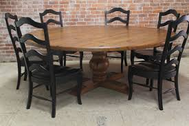 Stone Dining Room Table Grey Rustic Round Dining Room Table With White Carved Frame