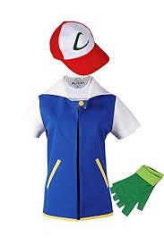 New&Yi Adult Kids Costume Cosplay Jacket Gloves ... - Amazon.com