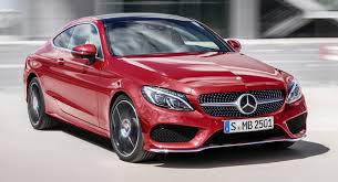 new car launches europe2017 MercedesBenz CClass Coupe Launches In Europe With Six Engines