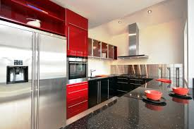 gloss black kitchenswith modern area amazing kitchen lighting