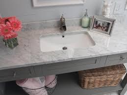 sink white carrara marble