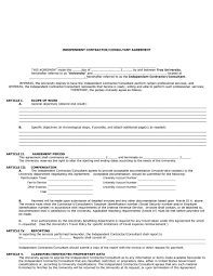 50 independent contractor agreement forms templates independent contractor agreement 42
