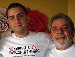 Resultado de imagem para lula e Luiz Cláudio Lula