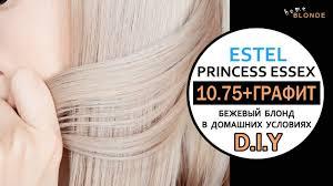 БЕЖЕВЫЙ блонд   ESTEL 10.75   Корректор ГРАФИТ (0G ...