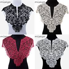 Misaya <b>1pc</b> Polyester <b>Big</b> V Neck 4 Colors Lace Collar Fabric,DIY ...