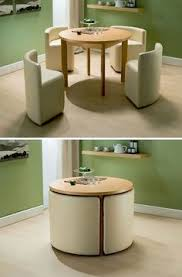 table for kitchen: all tucked in hans olsens super space saving dining set awesome nooks and breakfast nooks