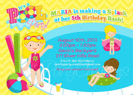 pool party invitations clipart clipart kid swimming pool party clip art girl pool party invitation you