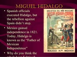 「Miguel Hidalgo speech」の画像検索結果