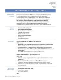linux system administrator resume sample job resume samples junior linux system administrator resume sample