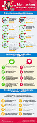 17 best images about customer service infographics the truth about multitasking in customer service infographic