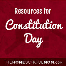 Constitution Day | TheHomeSchoolMom